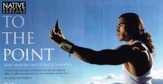 Martin Sensmeier for Native Peoples Magazine