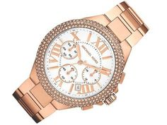 0202b1faee1e36 Michael Kors Camille Rose Gold-Tone Chronograph Watch MK5636 -- Check out  the image