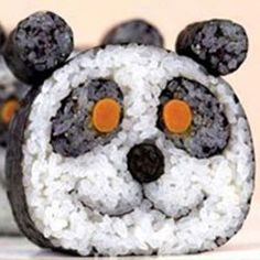 Panda California Roll.