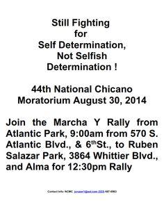 National Chicano Moratorium