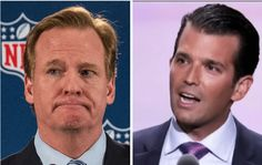 """Don Jr. destroys NFL commish; """"If only he cared as much about domestic abuse"""
