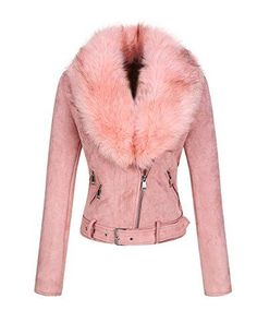 Suede Jacket with Detachable Faux Fur Collar Suede Shorts, Leather Shorts, Suede Leather, Faux Fur Collar, Fur Collars, Trendy Outfits, Fall Outfits, Trendy Clothing, Suede Outfits