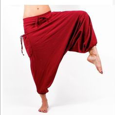 The Buddha - New without Tags Color black The Buddha from Buddha pants! Perfect for traveling, casual, to keep warm, or exercising like yoga. These pants are originally stuffed into a pocket making it easier to travel! Can be tied to a backpack/luggage, or thrown anywhere. Color black, has never been worn before. Because it's big - multiple sizes can be worn with each size. Size small  Trades Buddha Pants Pants