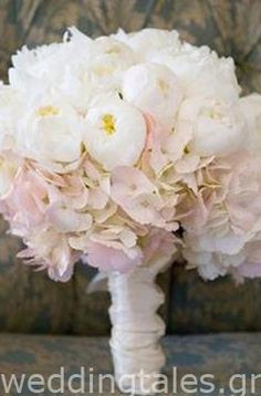 Νυφική Ανθοδέσμη: Ρομαντική ροζ ανθοδέσμη γάμου