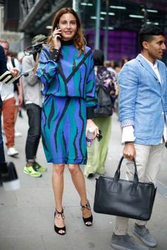 #LFW #streetstyle London Fashion Week