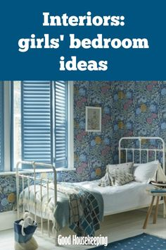 Interiors: girls' bedroom ideas - grown up charm