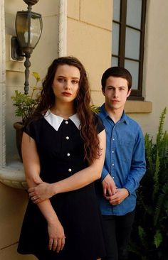 Katherine Langford and Dylan Minnette for 13 Reasons Why. 13 Reasons Why Poster, 13 Reasons Why Netflix, Thirteen Reasons Why, Clay And Hannah, Alex Standall, Zach Dempsey, Justin Foley, Tv Series 2017, Netflix Series