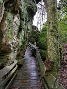 Beartown start park in greenbrier county WV.  Awesome for a walk through.  The rock formations are amazing