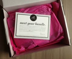 Got mine last week! A surprise from bugg! Box Packaging, Packaging Design, Makeup Subscription Boxes, Monthly Subscription Boxes, Elf Products, Makeup Products, Beauty Products, Sample Box, Cosmetic Box