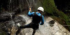 Canyoning Tour in Schneizlreuth #Abenteuer #Natursportart #Schluchten
