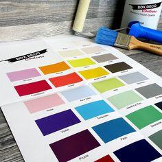 Osez la couleur ! cet été sera rayonnant chez BoxdecoCouleurs. Découvrez le nouveau nuancier, des couleurs tendance et demandez le gratuitement chez vous !