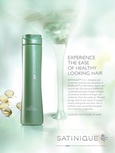 SATINIQUE: Experience the ease of healthy looking fair. #SATINIQUE www.amway.com/JordanKrystal