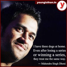 No matter what, we love him as CAPTAIN  Ms Dhoni