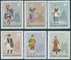 Maldives - European Costumes 1972