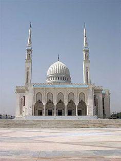 ALGERIE, Terre d'Afrique: l'université islamique et de la mosquée Emir Abdelkader.