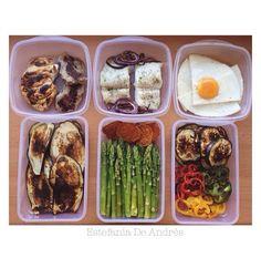 Aquí el ejemplo de 6 comidas! Y se ven deliciosas no????