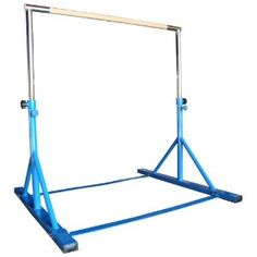 Gymnastics Expandable Junior Training Bar. i would love to have one of these for our backyard for the girls to practice on!