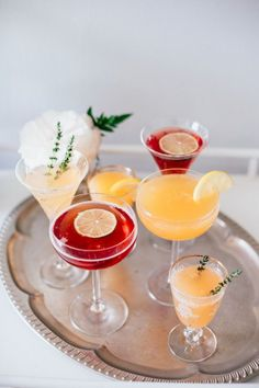 Recipe File: Mother's Day Mimosas
