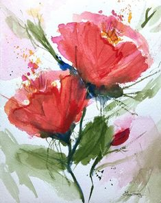 Romantic Watercolor Paintings | Laura Trevey Original Watercolors