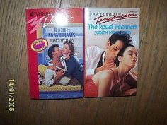 2 Judith McWilliams Romance Books in Great Condition