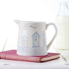 Dorset Beach Hut Milk Jug
