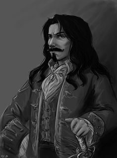 Captain Kennit - sketch by *A6A7 on deviantART