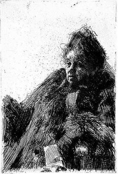 Anders Zorn etching                                                       …