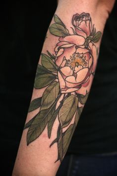 #springbreaktat garden rose and herbs, thanks Augusta!  #AliceCarrier #tattoo
