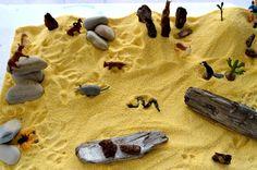 Desert small world play