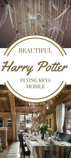 Oh! This Harry Potter Flying keys Mobile is absolutely beautiful. I am surprised of how large it is! would look good in a nursery too. #ad #affiliate #etsy #harrypotter #harrypotterfan #flyingkey #oybpinners #harrypotterdecor #decoration #nurserydecor #flyingkeymobile #mobile #nurserymobile