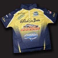 Fully custom apparel fishing bait ideas pinterest for Rayjus fishing jerseys