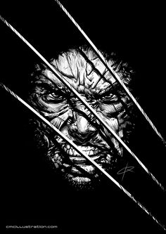 Wolverine by cmcillustration