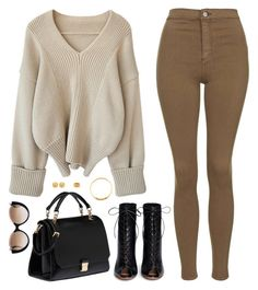 """""""Sin título #3687"""" by mdmsb on Polyvore featuring moda, Topshop, Miu Miu, Gianvito Rossi, Cutler and Gross y Chanel"""
