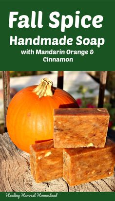 How To Make Autumn Spice Natural Handmade Soap . A Recipe (Mandarin Orange, Cinnamon . - How To Make Autumn Spice Natural Handmade Soap … A Recipe (Mandarin Orange, Cinnamon … – mortg - Handmade Soap Recipes, Handmade Soaps, Wie Macht Man, Homemade Beauty Products, Home Made Soap, Dessert, Soap Making, Pumpkin Spice, Herbalism