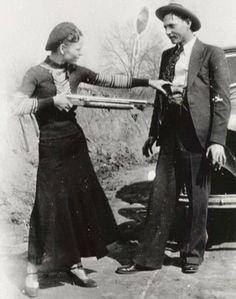Бони и Клайд, 1933 г.