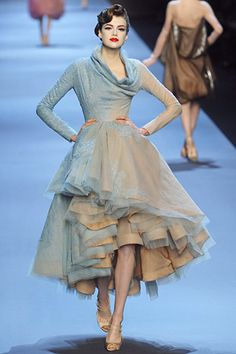 Christian Dior Couture Spring 2011. I looooooooove this whole look! <3