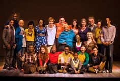 Cast of The Children's Monologues. (with Benedict)