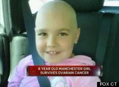 8-Year-Old Diagnosed With Ovarian Cancer, Is Now Cancer-Free #childhoodcancer #ovariancancer