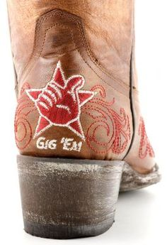 Gameday Boots Texas A&M Aggies Womens Cowboy Boots Cowboy Boots Women, Cowgirl Boots, Aggie Game, Painted Sneakers, College Fun, College Station, Texas A&m, Texans, Ballet Shoes