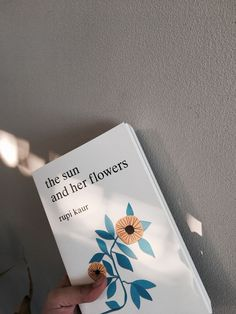 The Sun and Her Flowers by Rupi Kaur Book Club Books, Book Lists, Books To Read, Famous Books, Books For Teens, Book Quotes, Poetry Quotes, Book Aesthetic, Poetry Books