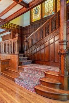 New House Interior Vintage Architecture Ideas Victorian Architecture, Architecture Design, Chinese Architecture, Architecture Office, Futuristic Architecture, Luxury Apartments, Luxury Homes, Wood Staircase, Spiral Staircases