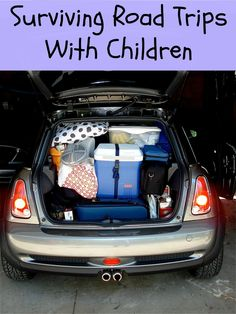 Surviving Road Trips With Children - More Than a Mom of Three #traveltips #travelingwithchildren