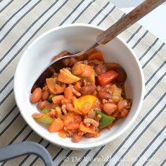 Het recept voor chili con carne staat op De Wereldkeuken Thuis