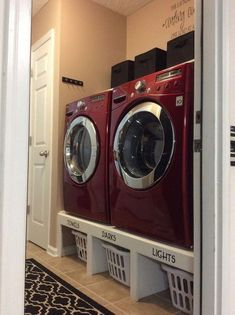 "Obtain fantastic tips on ""laundry room storage diy cabinets"". They are on call f. Obtain fantastic tips on ""laundry room storage diy cabinets"". They are on call for you on our s Laundry Room Remodel, Laundry Closet, Laundry Room Organization, Laundry Room Design, Laundry Rooms, Laundry Room Baskets, Laundry Basket Storage, Washer And Dryer Pedestal, Laundry Pedestal"
