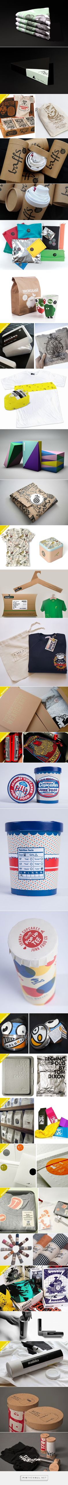 25 Cool T-shirt Packaging Design Examples – Part 2 - Printsome Blog - created via https://pinthemall.net