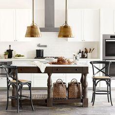 Winfield Double Kitchen Island | Williams Sonoma