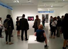 """Insights """"Social Media, Kunst + Finanzen"""" am 23.06.2014: Art Foyer der DZ Bank, Ausstellung """"Blütezeit"""", Führung mit Kunsthistoriker Daniel Schierke #smcffm"""