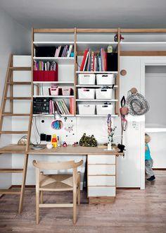 Smart måde at lave opgang til hems på! - 50'er villa med langsigtede løsninger - Boligliv