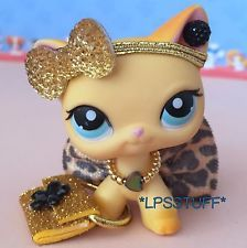 LPS Littlest Pet Shop Clothes Accessories Purse Outfit Lot *CAT NOT INCLUDED*