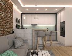 Mieszkanie w bloku z lat 60′ – OroConcept – pracowania projektowania wnętrz